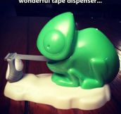 Clever Tape Dispenser