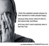 Sad People Try Their Hardest