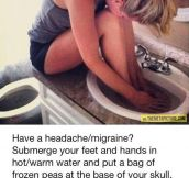 Probably The Fastest Way To Cure A Headache