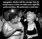 Marilyn Helping A Friend