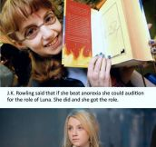 Evanna Lynch Was A Big Fan
