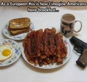 True American Breakfast