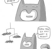 Seriously Robin, You Had One Job