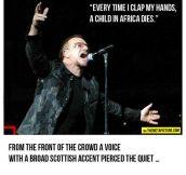 Bono Is Silenced
