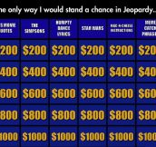 Now This Is My Kind Of Jeopardy
