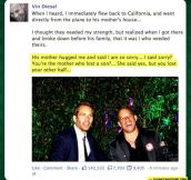 Vin Diesel On His Friend Paul Walker's Death
