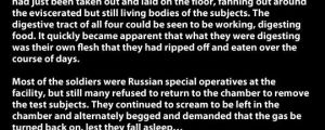 Creepy Russian Sleeping Experiment