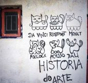 History Of Art With Cats