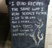 Reading A Recipe