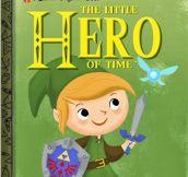Games Reimagined As Classic Children's Books