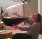 The Doctor Said Just One Glass