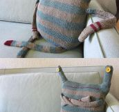 Monster Doll Made From Old Clothes
