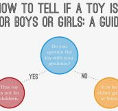How To Find Out If A Toy Is For Boys Or Girls