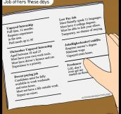 Jobs Offerings These Days