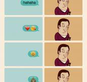 Every Time I'm Texting Using Emojis