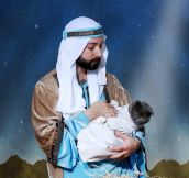 When You Include Your Cat In Your Christmas Card