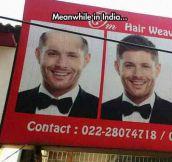 Jensen Ackles In India
