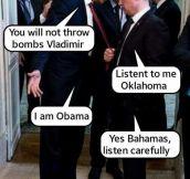 It's Obama