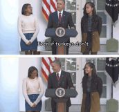 Obama Drops The Dad Joke Of 2015