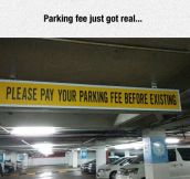 Pay Your Parking