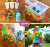 Gummy Bear Pops Idea
