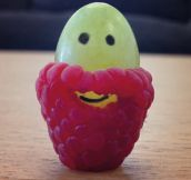 Raspberries Make Grape Beards