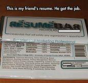 Clever Resume Design