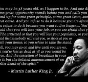 MLK Was A Wise Man