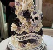 One Of The Best Wedding Cakes I've Ever Seen