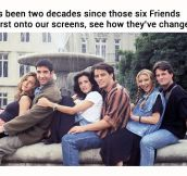 _Friends_ Characters That We Love, Then And Now