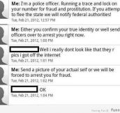 How To Troll A Fraudster (12 Photos)