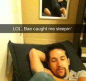 Lol, My Babe Caught Me Sleeping (12 Photos)