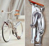 Fold-Up Bicycle