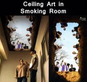 Smoker Room Ceiling