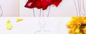 Real Flower Petals As Clothing