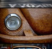 Epic Wooden Volkswagen