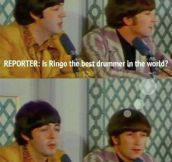 Oh, Poor Ringo Star