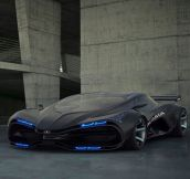 Epic Black Marussia