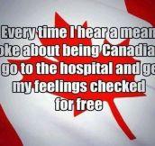 Canadian Burn