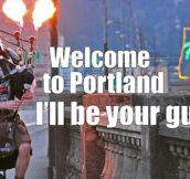 Portland Is A Strange Place