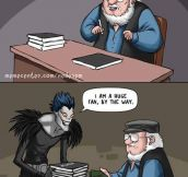 Oh No, He Needs More Books