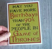 Birthday Card Win