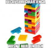 Evil Tetris Jenga