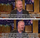 Jim Gaffigan's Opinion About Babies