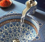 Breathtaking Moroccan Sink