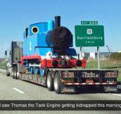 Oh No, Poor Thomas