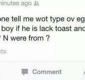Type Of Eggs