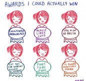 Awards I Could Easily Win