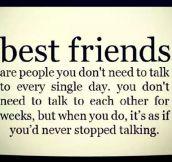 Best Friends Will Understand