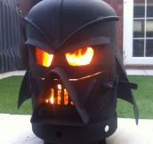 Epic Vader Outdoor Fireplace